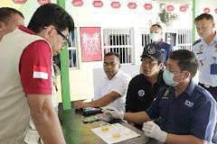 Diresnarkoba Polda Jateng Melakukan Razia Narkoba Di Rutan Rowobelang Batang