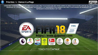 FTS Mod FIFA 18 by Adhi Putra Apk + Data Obb