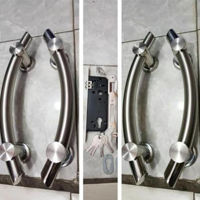 model handle pegangan pintu kupu tarung terbaru