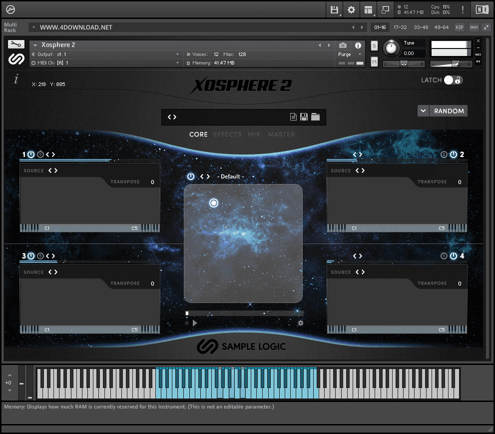 Sample Logic - Xosphere 2 KONTAKT Library