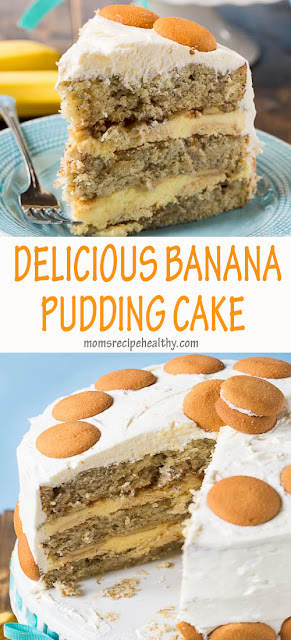 Delicious Banana Pudding Cake Recipes {+video}