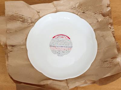 山崎製パン 春のパンまつり2019 白いフローラルディッシュ