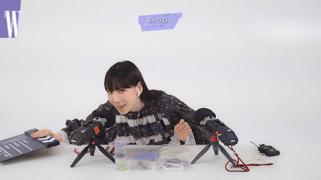 SNSD Taeyeon ASMR video