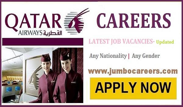 qatar airways jobs for 12th pass 2021, Qatar airways jobs 2021