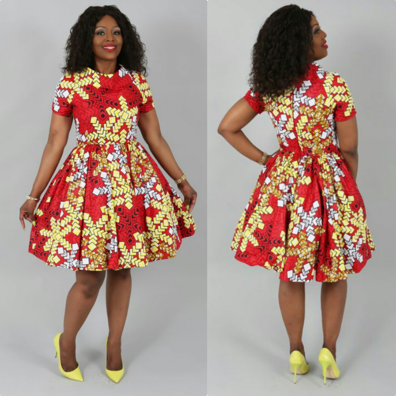 012f0bbc0 Trendy Kitenge dress designs that will Wow you!