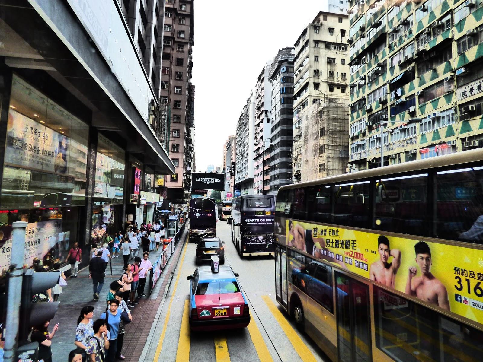 Emeletes busz Hongkong