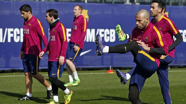El Barça ya piensa en el encuentro contra el Eibar