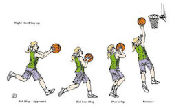 Pengertian dan Cara Melakukan Teknik Lay Up Basket