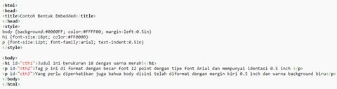 Pengertian dari CSS, Fungsi CSS Beserta Contoh nya 4