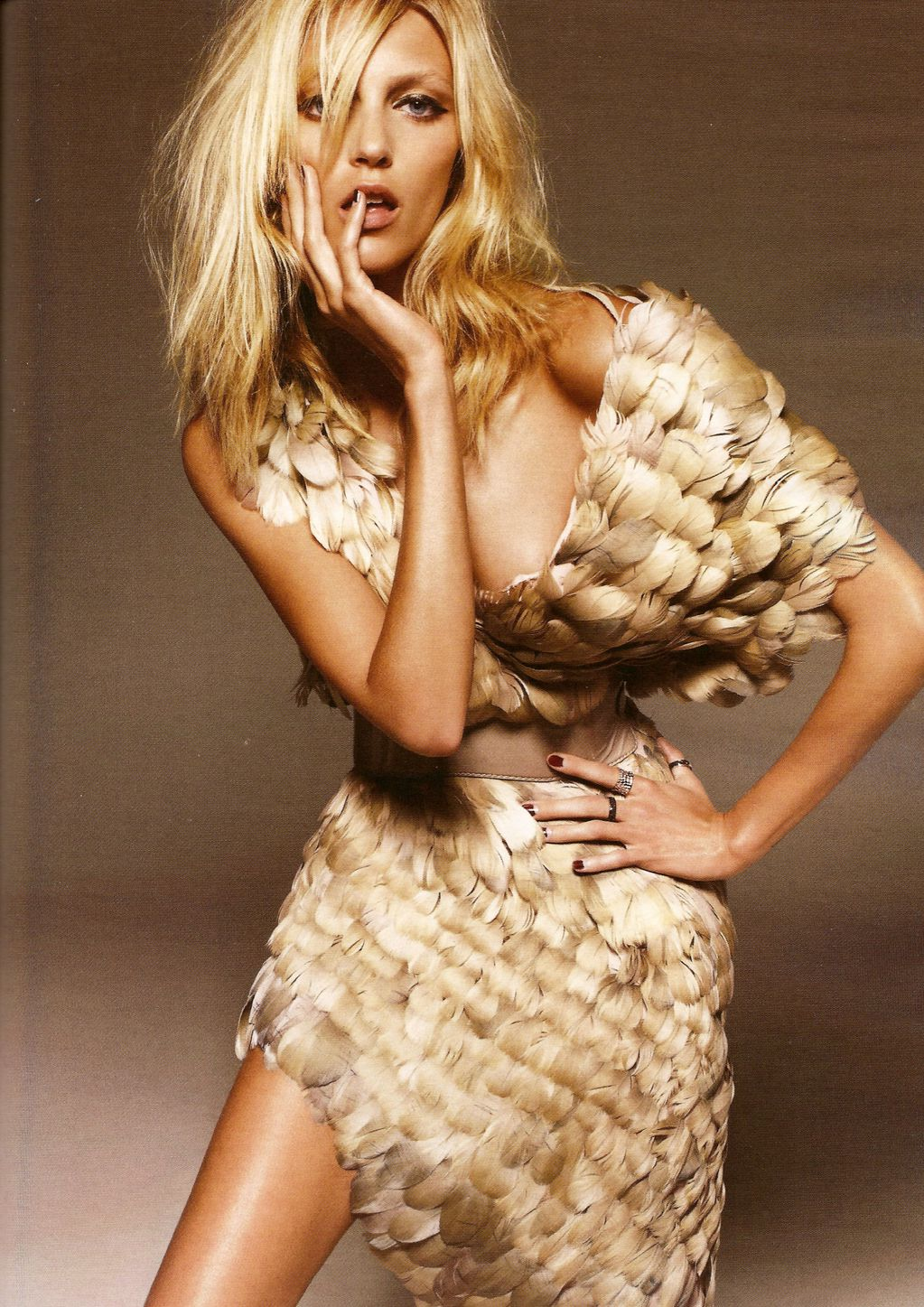 Editorial Glamour Makeup Professional Makeup Artist: Things I Like: Anja Rubik For Glamour Magazine Poland