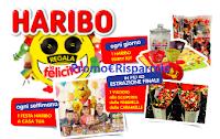 Logo Haribo regala la felicità: vinci 154 Party kit, 22 Feste Heribo e viaggio in Francia