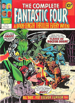 The Complete Fantastic Four #23, Dr Doom