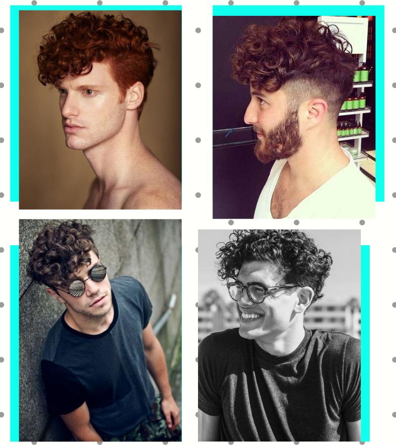 cabelo cacheado masculino