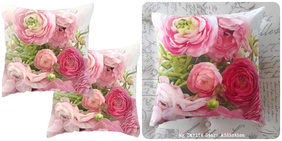 gorgeous floral pillow covers