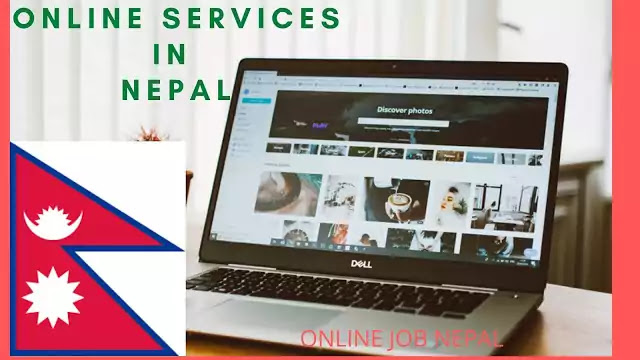 What are online services in nepal