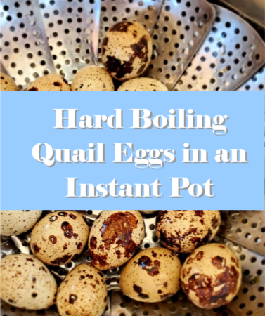 How to Hard Boil Quail Eggs in an Instant Pot (with video)