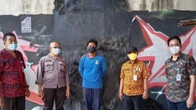 Mural Jokowi 404 Not Found Dihapus, Publik: Merakyat tapi kok Rasa Otoriter?