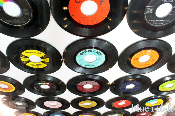 Record feature wall