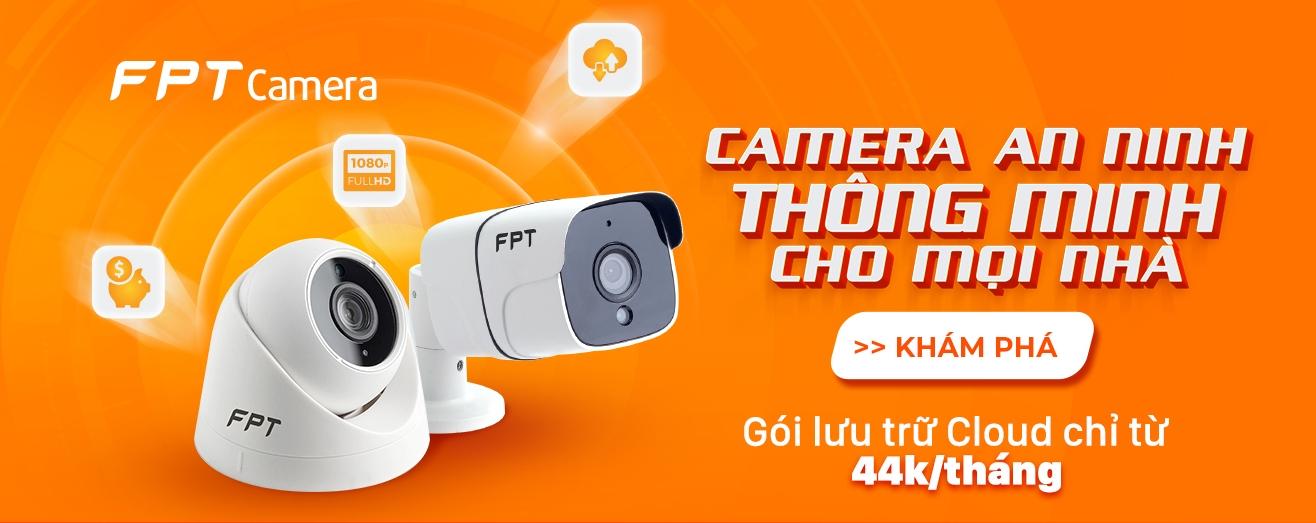 Lắp đặt camera quan sát FPT Camera Hậu Giang
