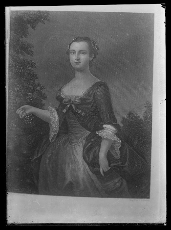 Martha W as a young woman