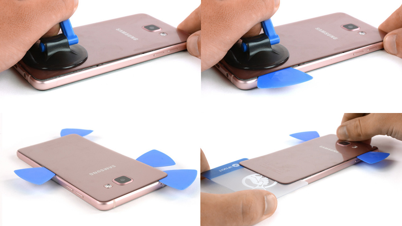 Cara Mengganti Baterai Samsung Galaxy A3 A5 A7 A9 2016 2017
