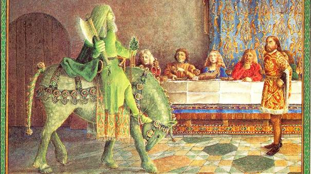 a show of chivalry in sir gawain and the green knight characters in king arthur The author of sir gawain and the green knight describes sir gawain as the good knight (norton 204) within the first few verses of the story he is said to be the most courteous knight (norton 215) of arthur's court as well.