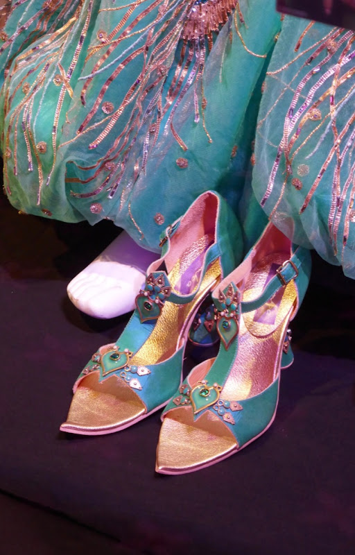 Jasmine costume shoes Aladdin