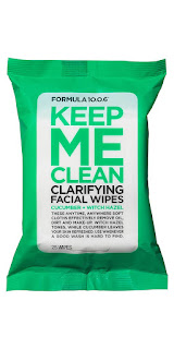 Formula 10.0.6 Keep Me Clean Face Wipes