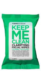 Formula 10.0.6 Keep Me Clean Face Wipes
