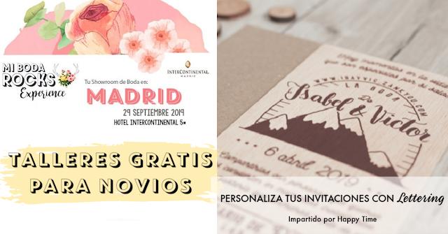 taller personaliza tus invitaciones con lettering - mi boda rocks