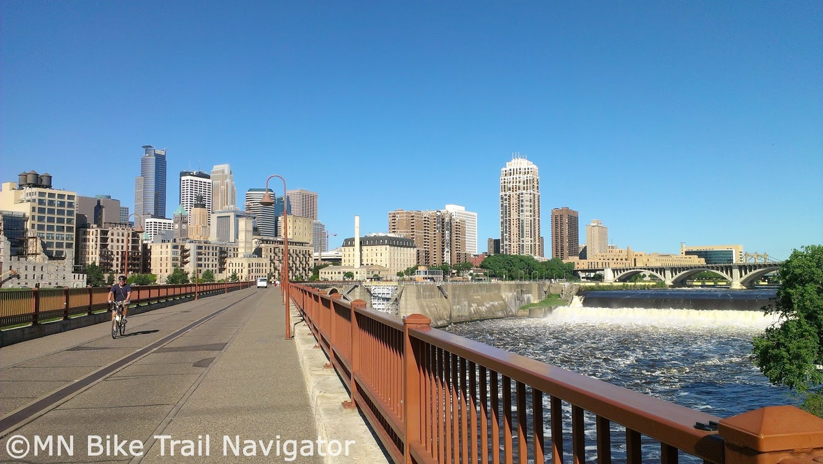 MN Bike Trail Navigator: Twin Cities Area Map Links