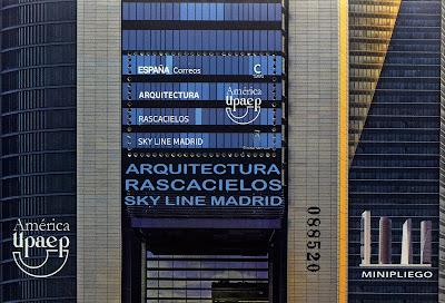 ARQUITECTURA. RASCACIELOS SKY LINE MADRID