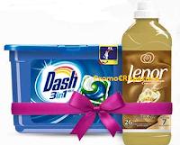 Logo Desideri Magazine : vinci kit Dash Pods 3in1 + Lenor concentrato