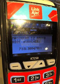 mesin EDC untuk menukarkan voucher