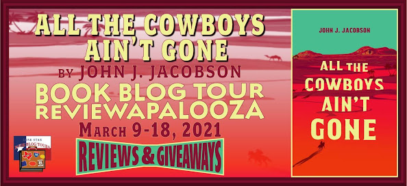All the Cowboys Ain't Gone book blog tour promotion banner