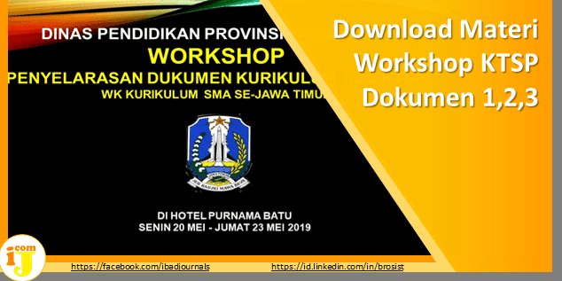 Download Materi Workshop KTSP Dokumen 1,2,3 Kurikulum