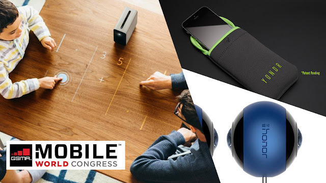 MWC and CES: The Gadget Highlights 2017