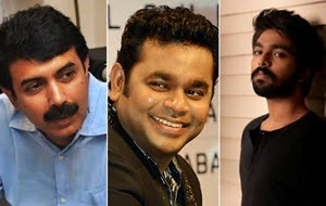 G.V. Prakash to act in Rajiv Menon Movie, Music to be Composed by A.R. Rahman