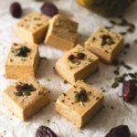 Vegan Pumpkin Fudge Recipe   danceofstoves.com #vegan