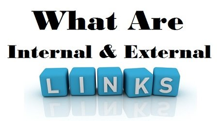 What are Internal and External Links