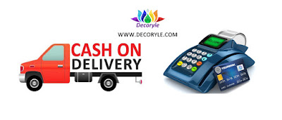 Cash on Delivery and online transaction both available