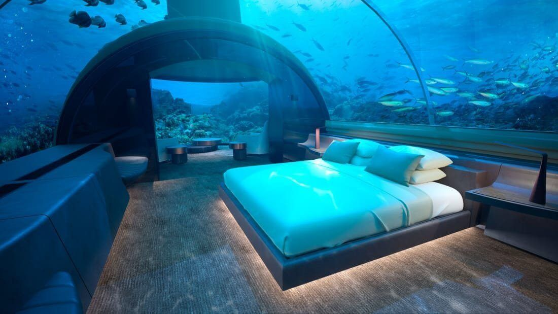 This Luxury Maldives Resort Is Opening The First Underwater Hotel In The World