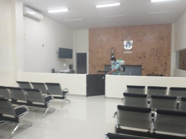 Sin bajar la guardia, Poder Judicial hace frente al Sars-Cov-2