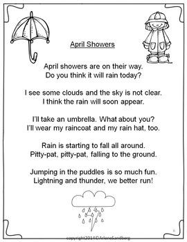 """English San Roque: Poem: """"April Showers"""""""
