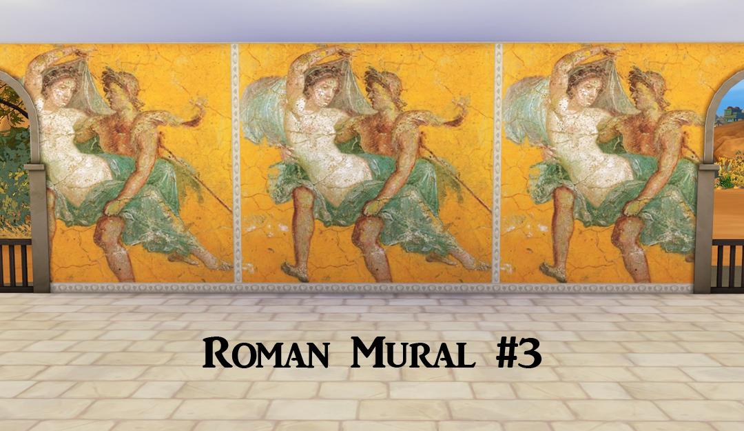 Ts4 ancient rome murals history lover 39 s sims blog for Ancient roman mural