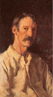 Robert Louis Stevenson, author of  Treasure Island