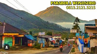 parabola wonosobo wisata banjarnegara tv kabel temanggung gunung sumbing desa tertinggi di wonosobo toptv dieng wifi internet net1