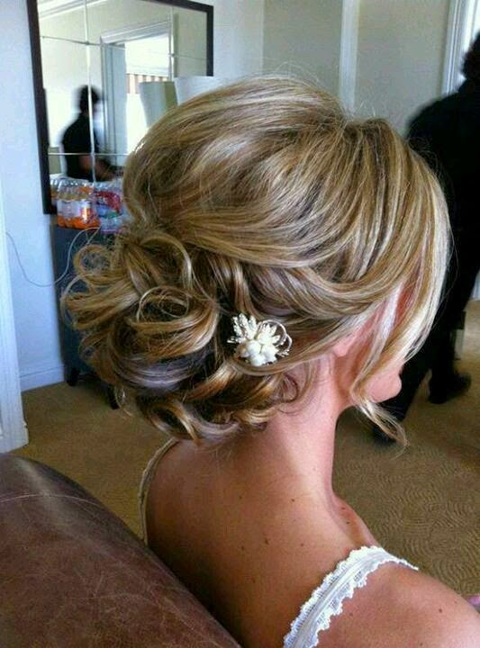 See more I do like the little ones, but not sure with hair down. Bridal hair sweeping twisted pieces pulled back