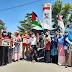 Peduli Palestina, ACT Bersama Komunitas Lain di Pasbar Kumpulkan Donasi