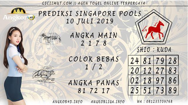 PREDIKSI SINGAPORE POOLS 10 JULI 2019